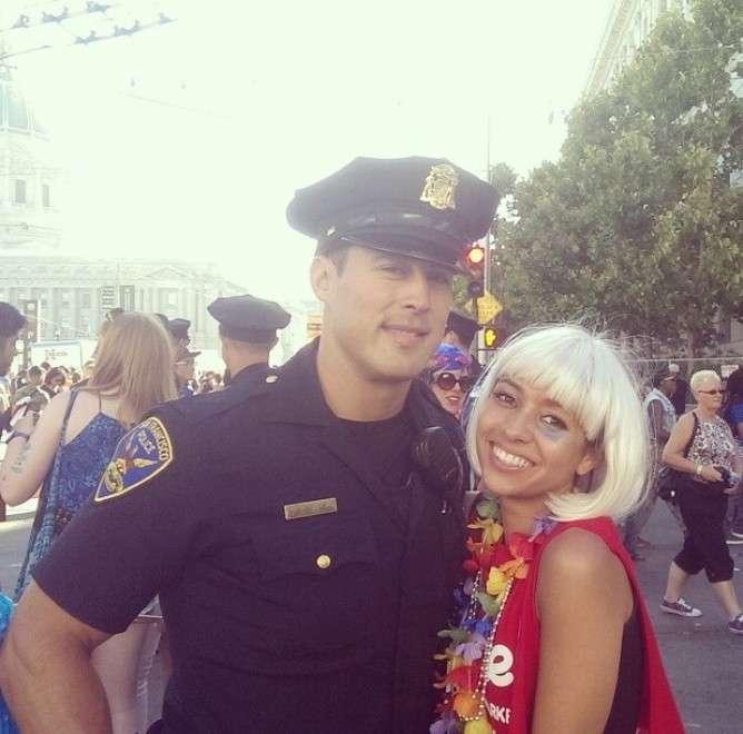 Dopo il sexy delinquente ecco il poliziotto più bello del mondo [FOTO]