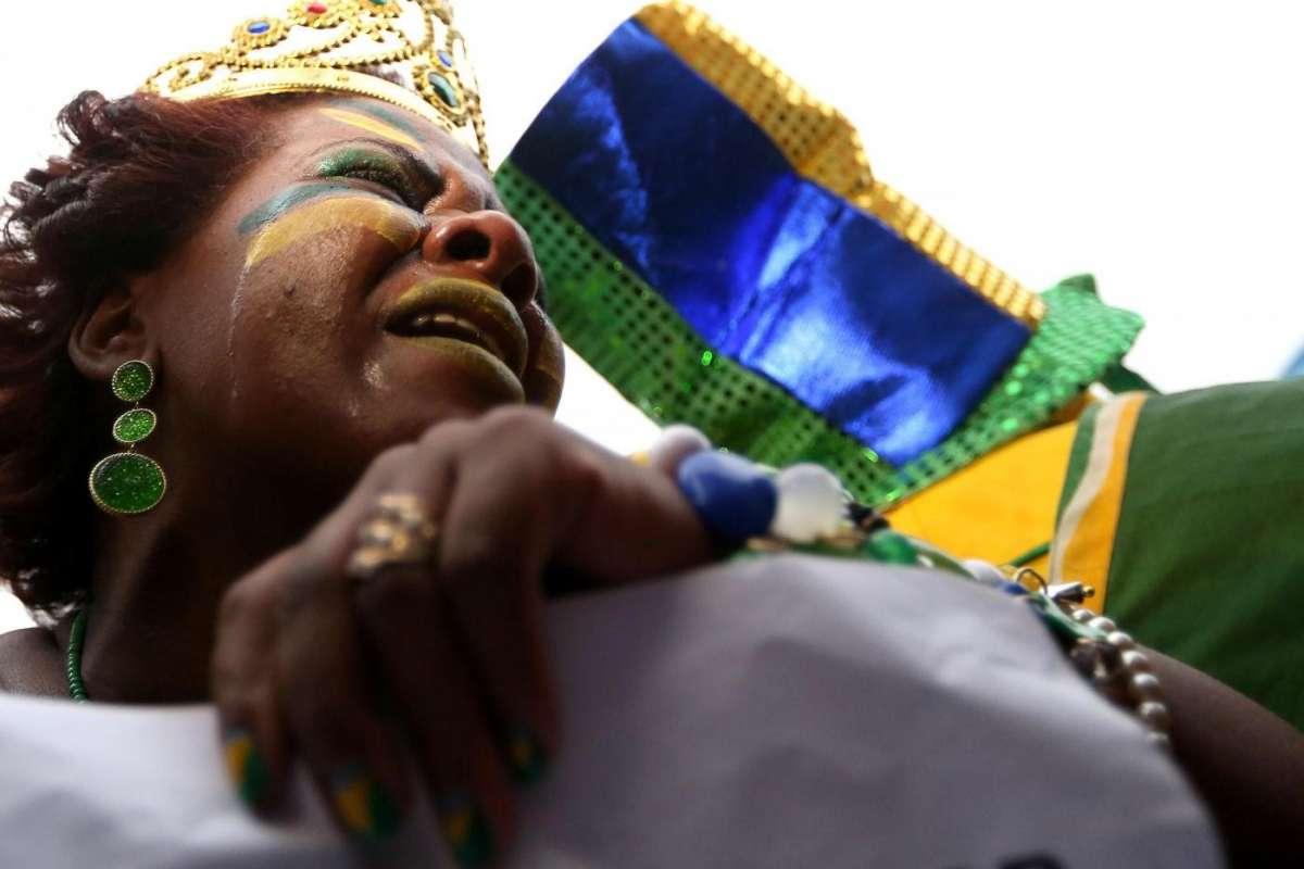 Brasile-Germania: la disperazione sui volti delle tifose [FOTO]