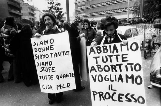 femministe e aborto