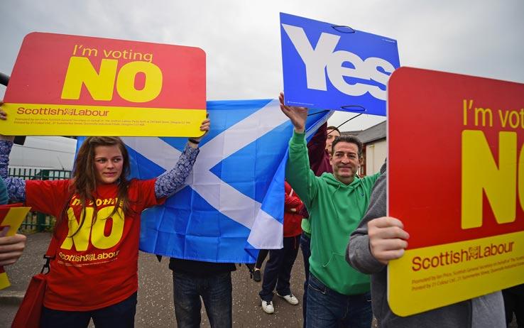 Indipendenza Scozia: il voto femminile sarà decisivo