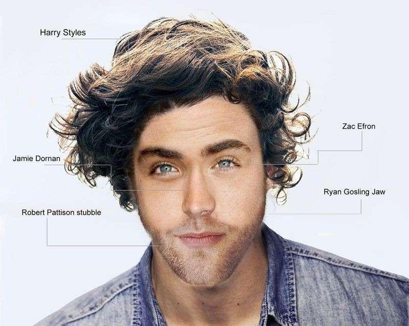 Bellezza maschile: il volto perfetto è un mix di sex symbol