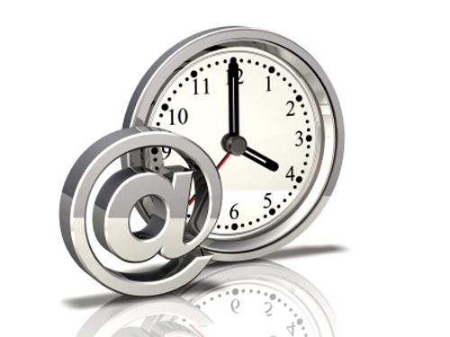 limita tempo per email