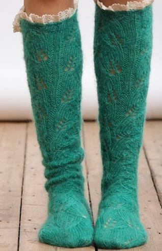 calzettoni lana femminili 1