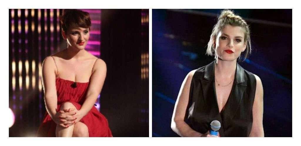 Sanremo 2015: le vallette cantanti Arisa ed Emma [FOTO]