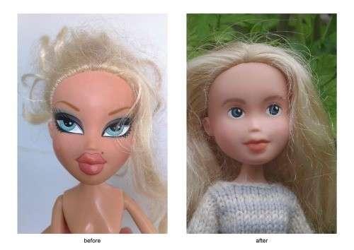 Tree Change Dolls: bambole liberate da trucco e moda [FOTO]