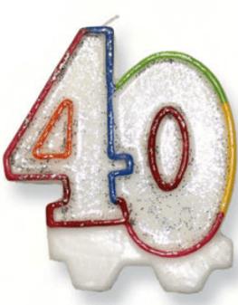 l_ca432 candelina 40 anni 2.50