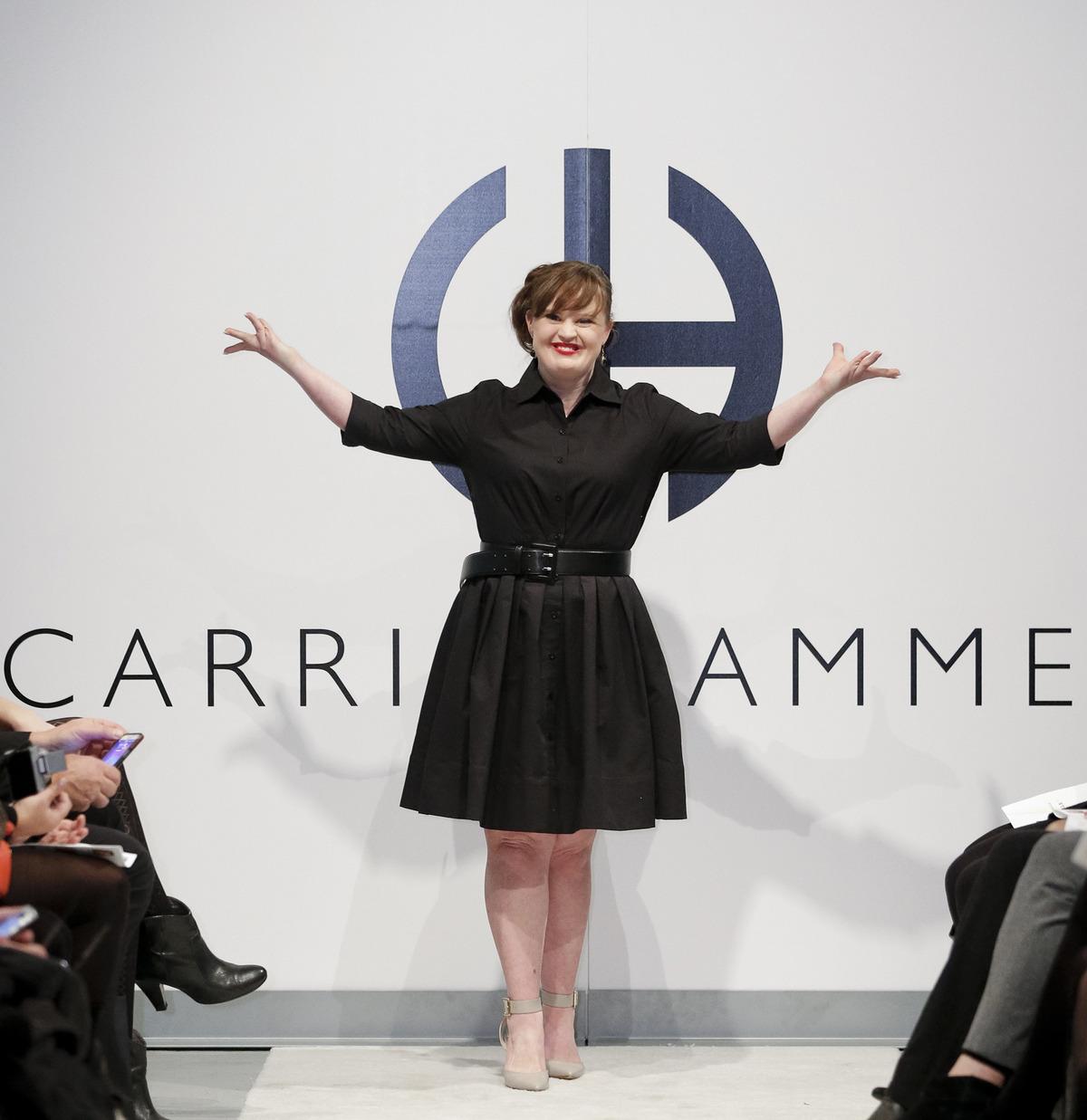 New York: Jamie, attrice down, modella per un giorno