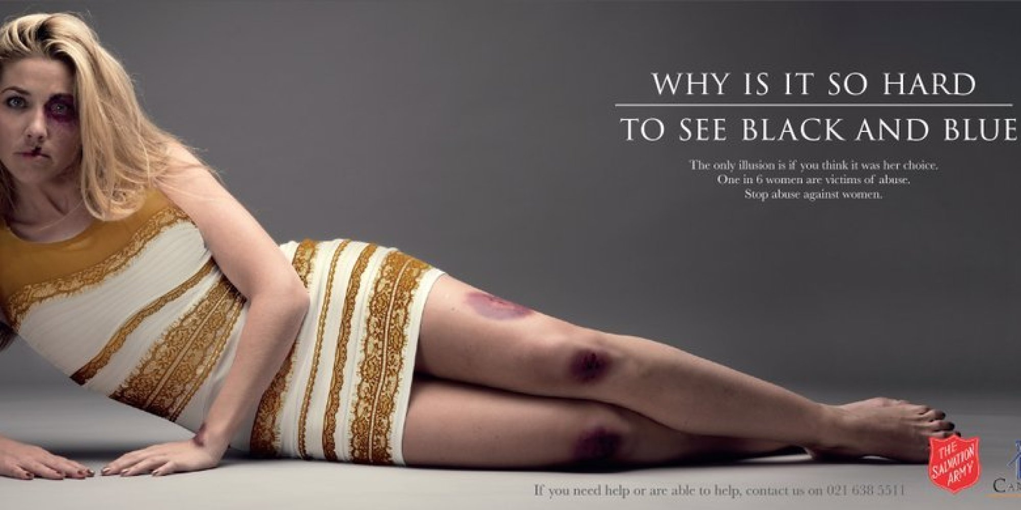 #TheDress, un abito contro la violenza sulle donne