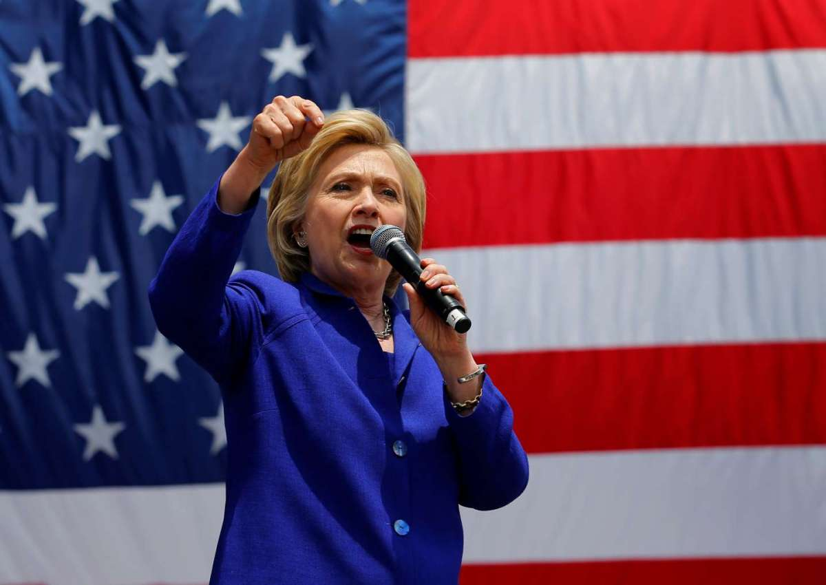 Hillary Clinton candidata alla Casa Bianca [FOTO]