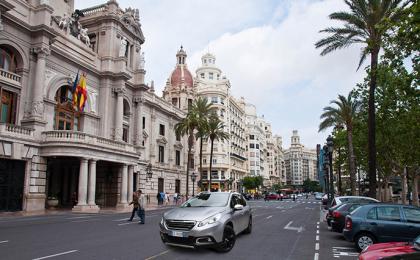 Viaggio in Spagna con Peugeot 2008 Black Matt