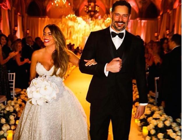 Il matrimonio di Sofia Vergara e Joe Manganiello