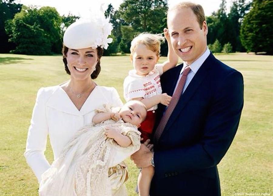 Kate Middleton mamma bis di Charlotte