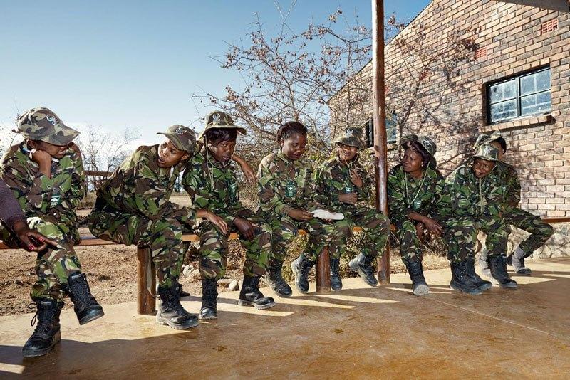 Le Black Mambas, ranger sudafricane che difendono i rinoceronti