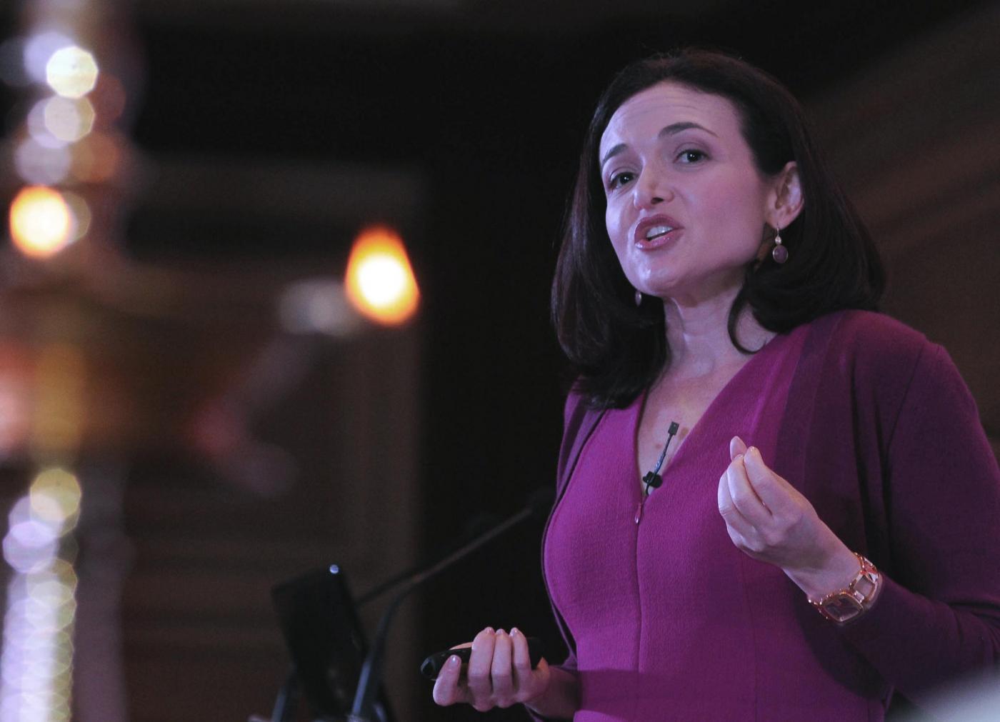 Sheryl Sandberg, capo operativo Facebook