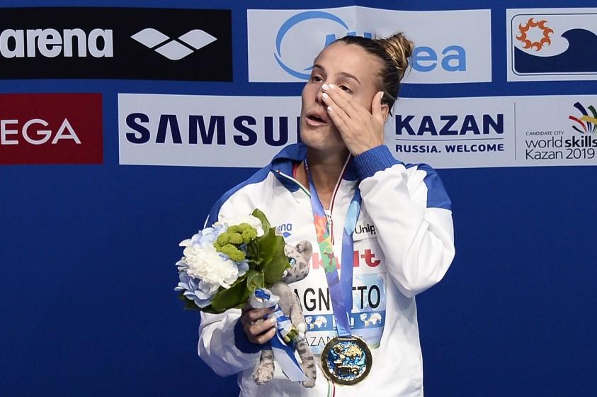 Tania Cagnotto vince l'oro ai Mondiali di Kazan 2015