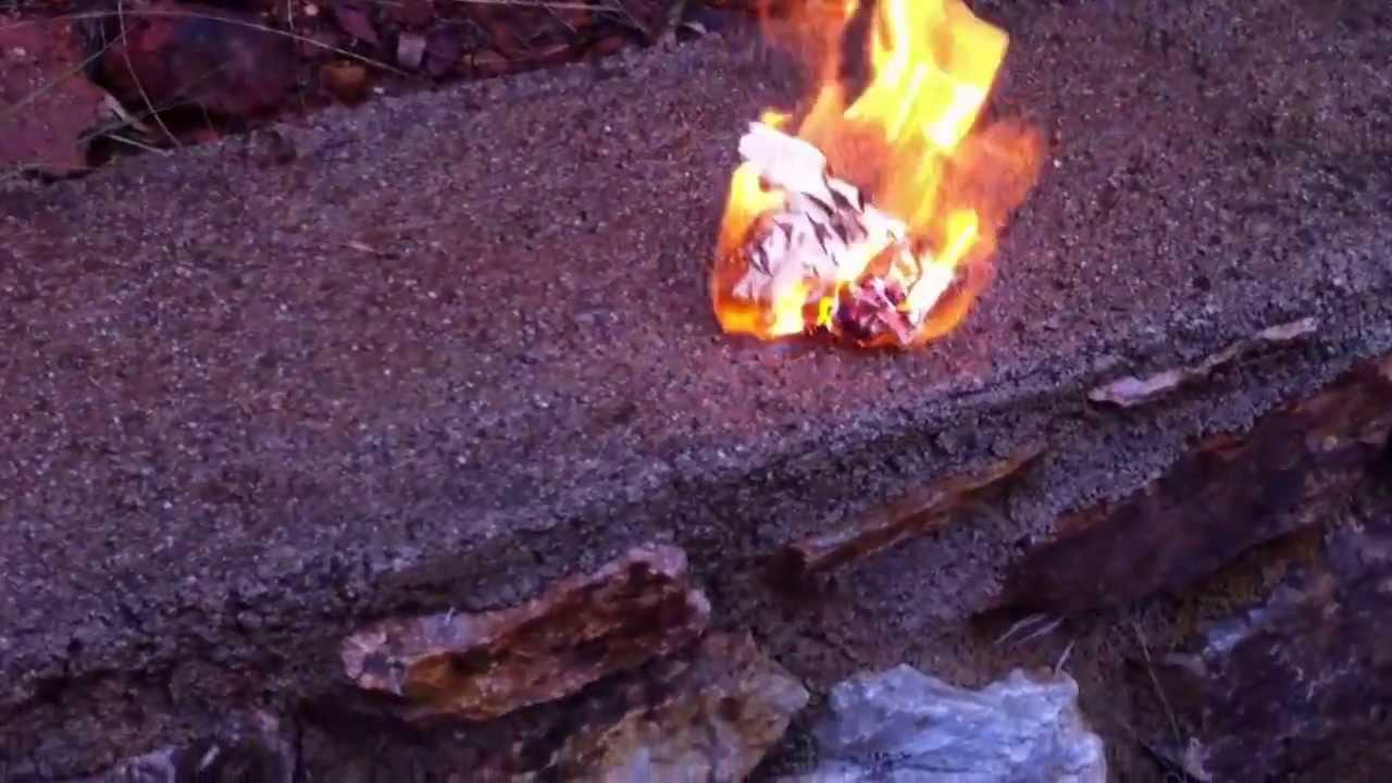 bruciare ricordi spiacevoli