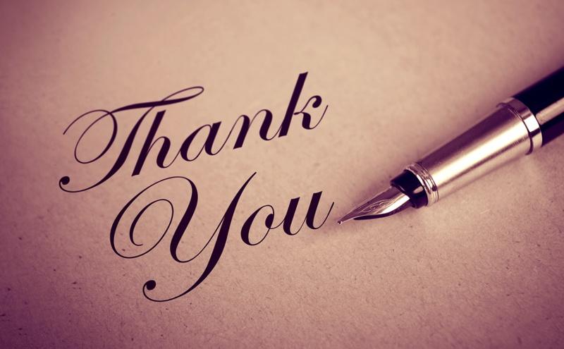 ringraziare