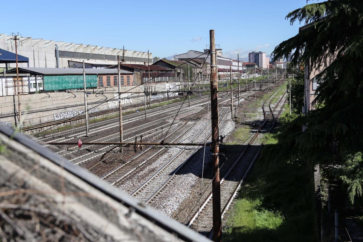 Milano, stazione Greco Pirelli: il luogo dove è stato ucciso il giovane writer