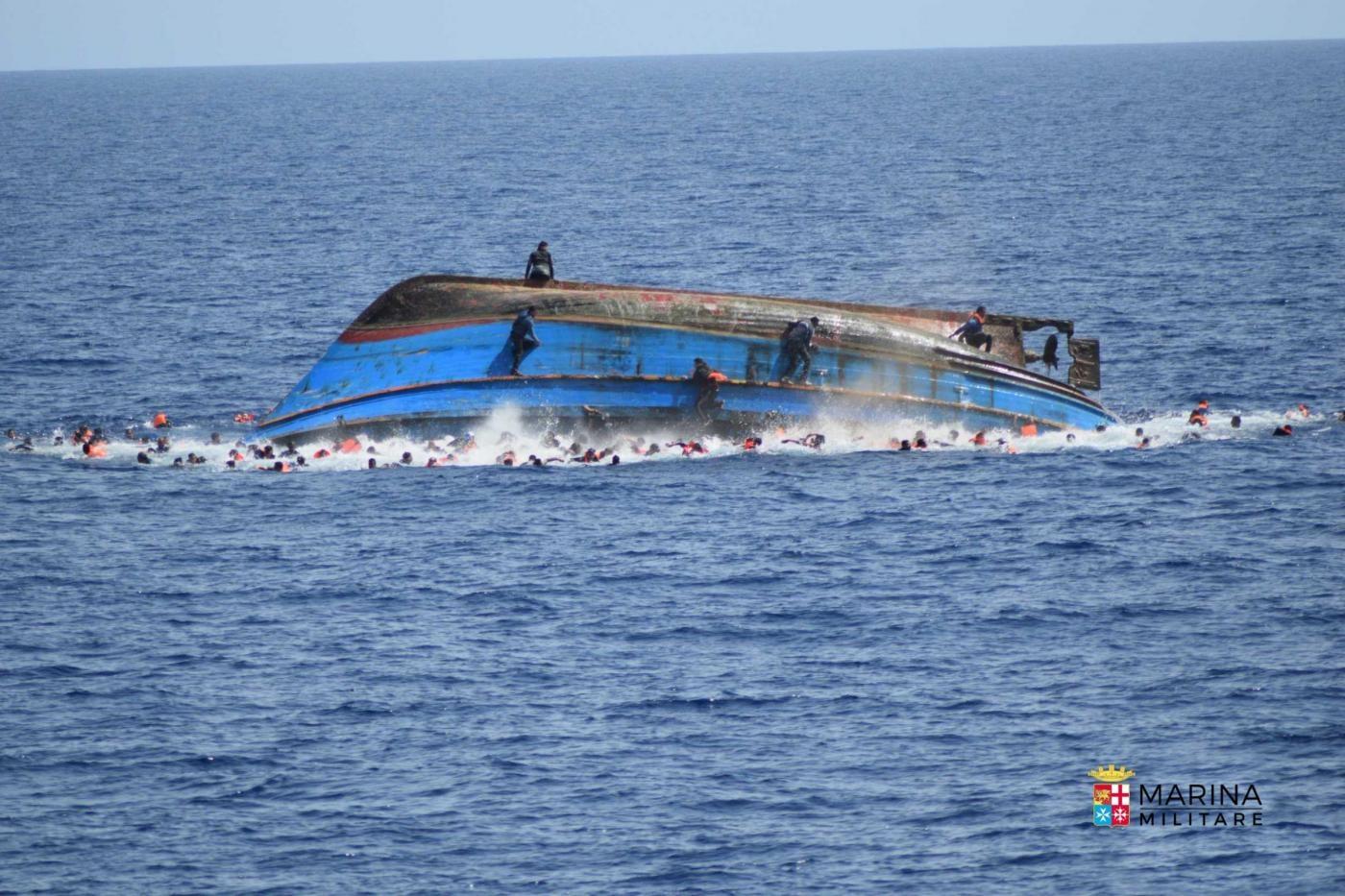 naufragio migranti