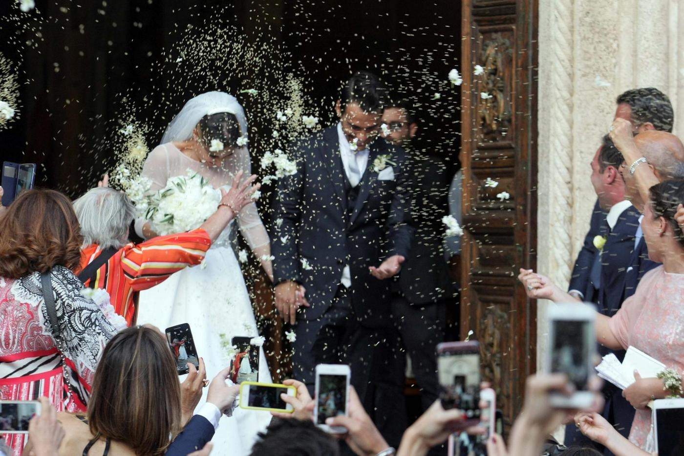 Matrimonio di Flavia Pennetta e Fabio Fognini