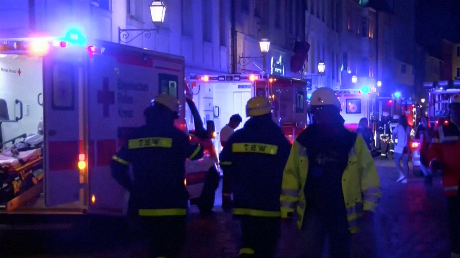 Ansbach, Kamikaze si fa esplodere vicino ad un concerto