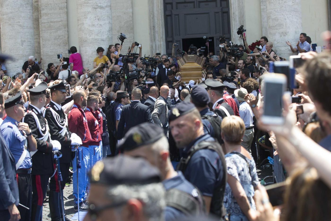Funerali di Bud Spencer a Roma