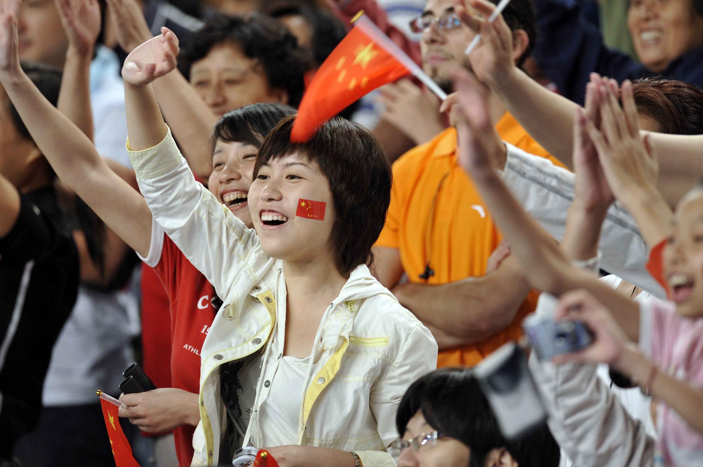 cinesi olimpiadi