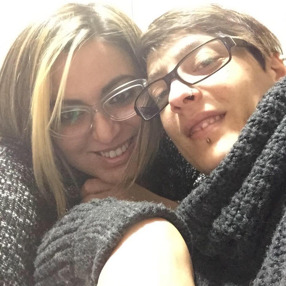 Anna ed Eleonora selfie