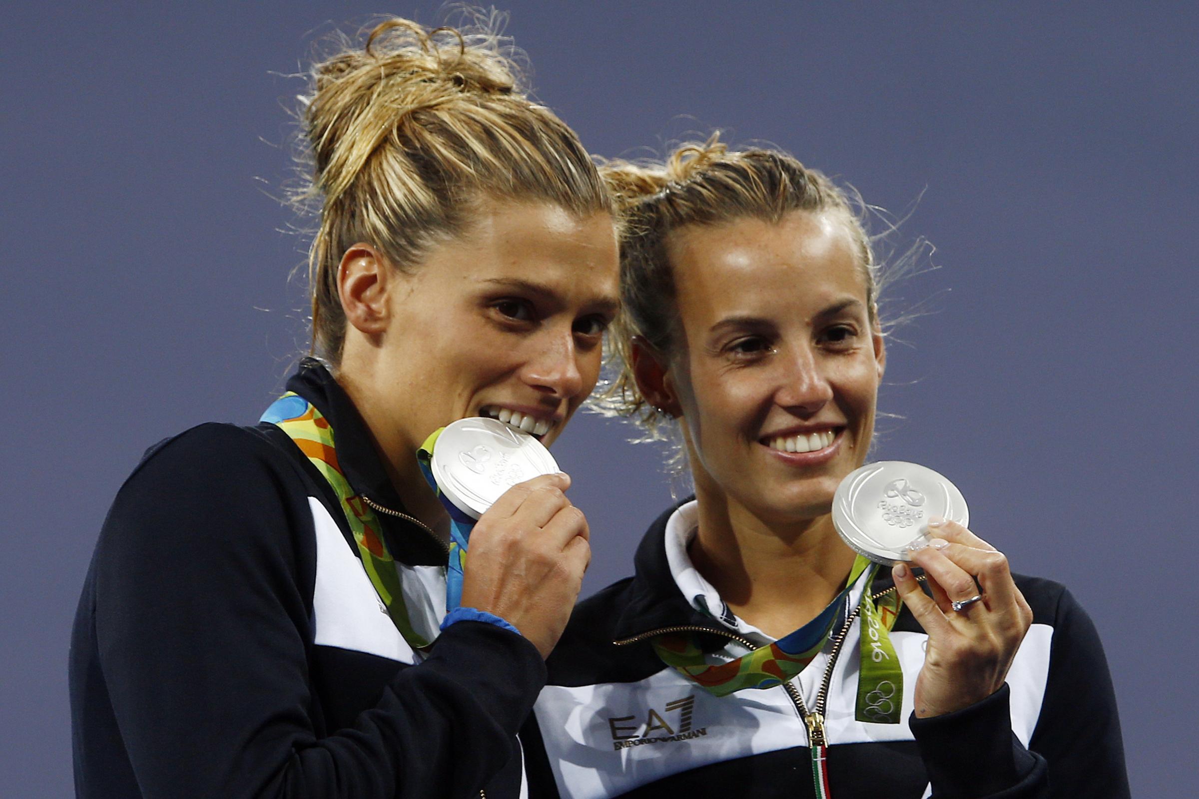 Tuffi: medaglia d'argento per per l'Italia