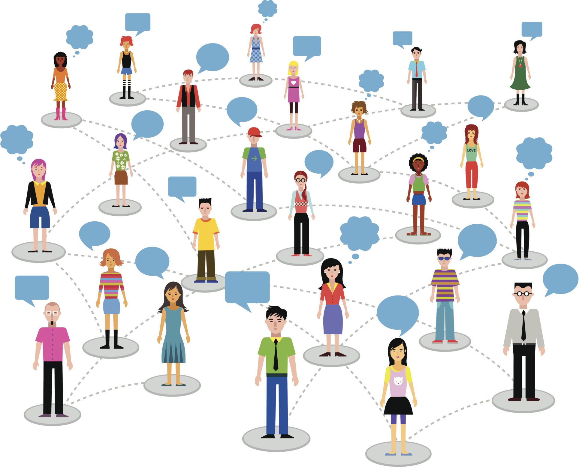 rete di contatti network