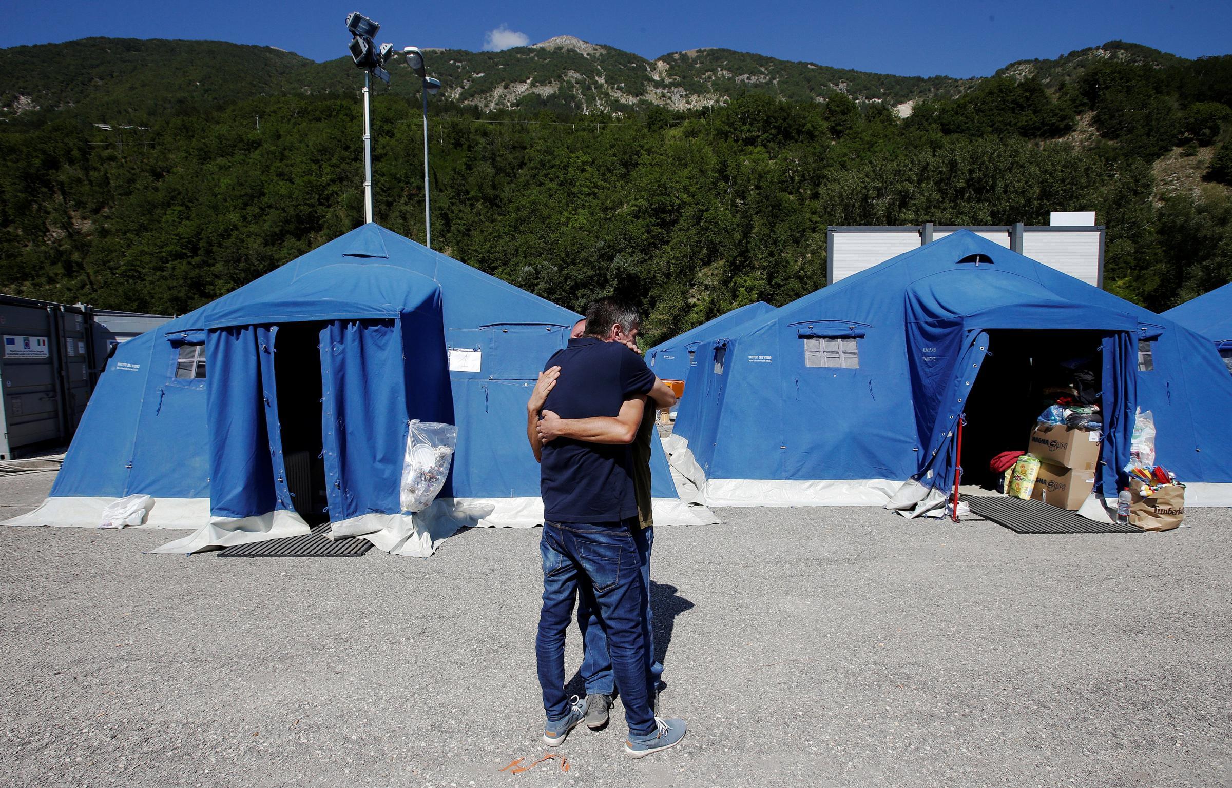 Pescara del Tronto, le devastazioni dovute al sisma