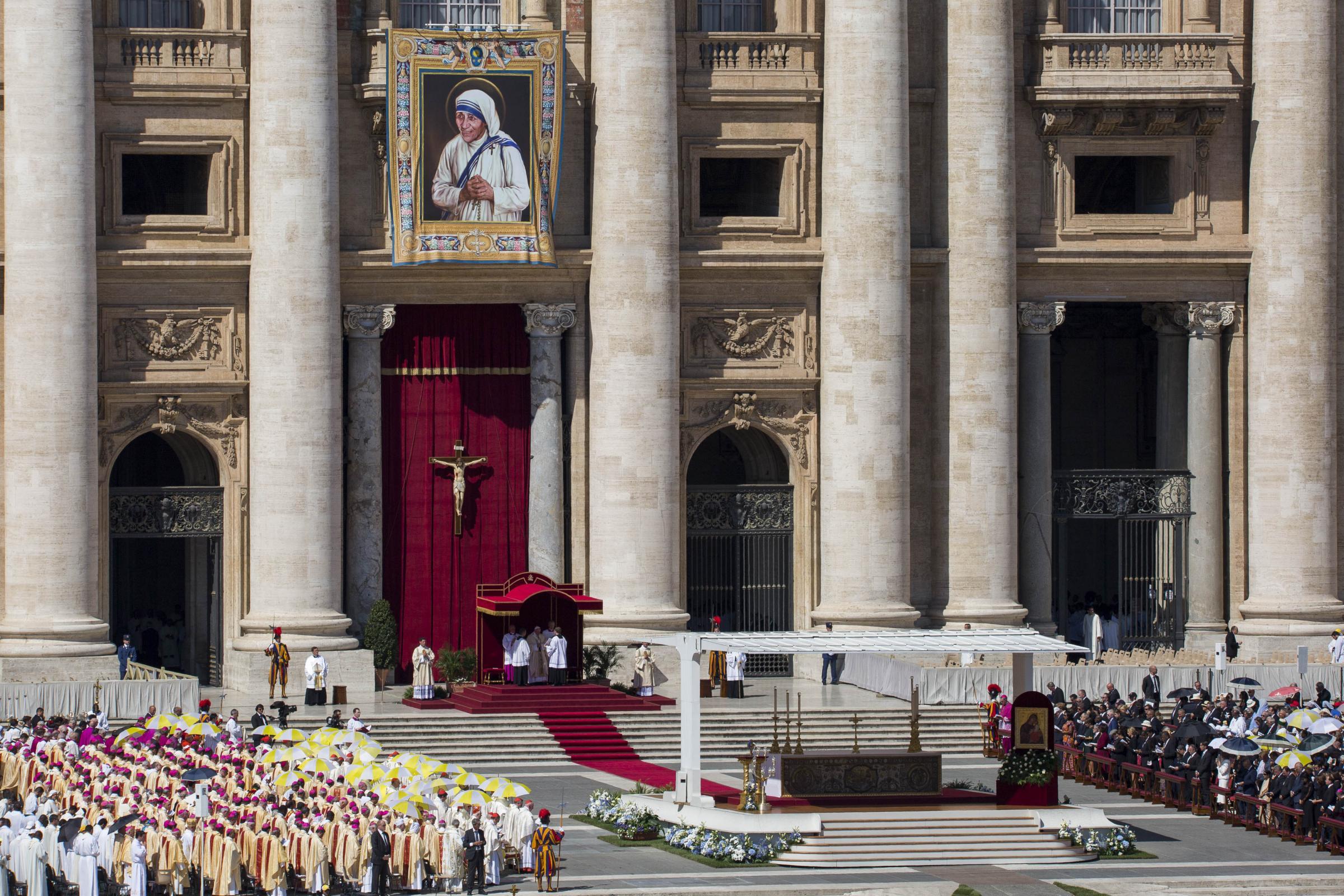 Santa Messa per la Canonizzazione della Beata Madre Teresa di Calcutta