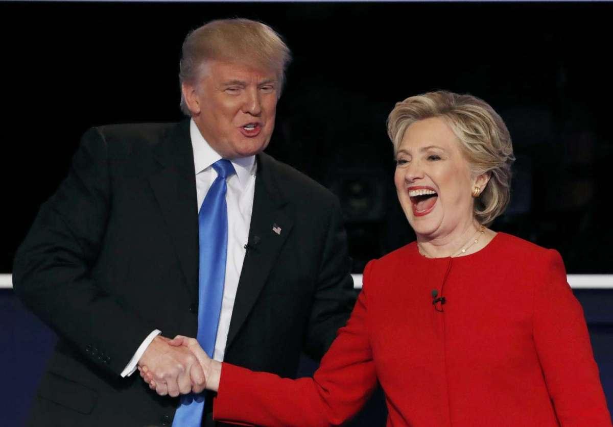 Elezioni Usa 2016: Hillary Clinton prevale su Donald Trump nel primo dibattito tv [FOTO]