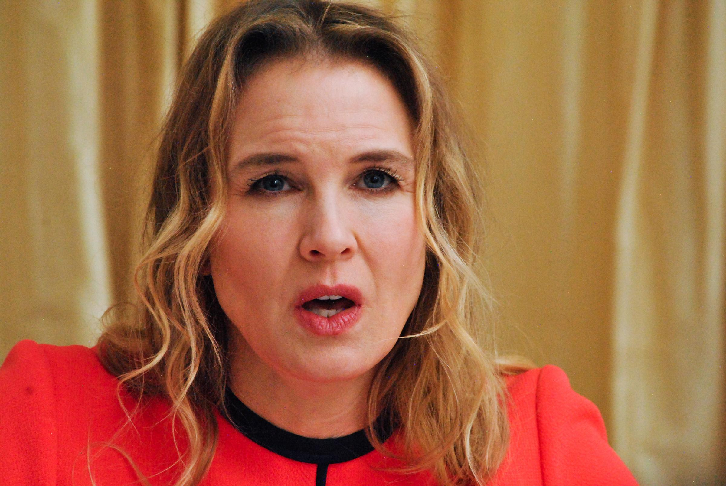 Renee Zellweger ritratti in conferenza stampa