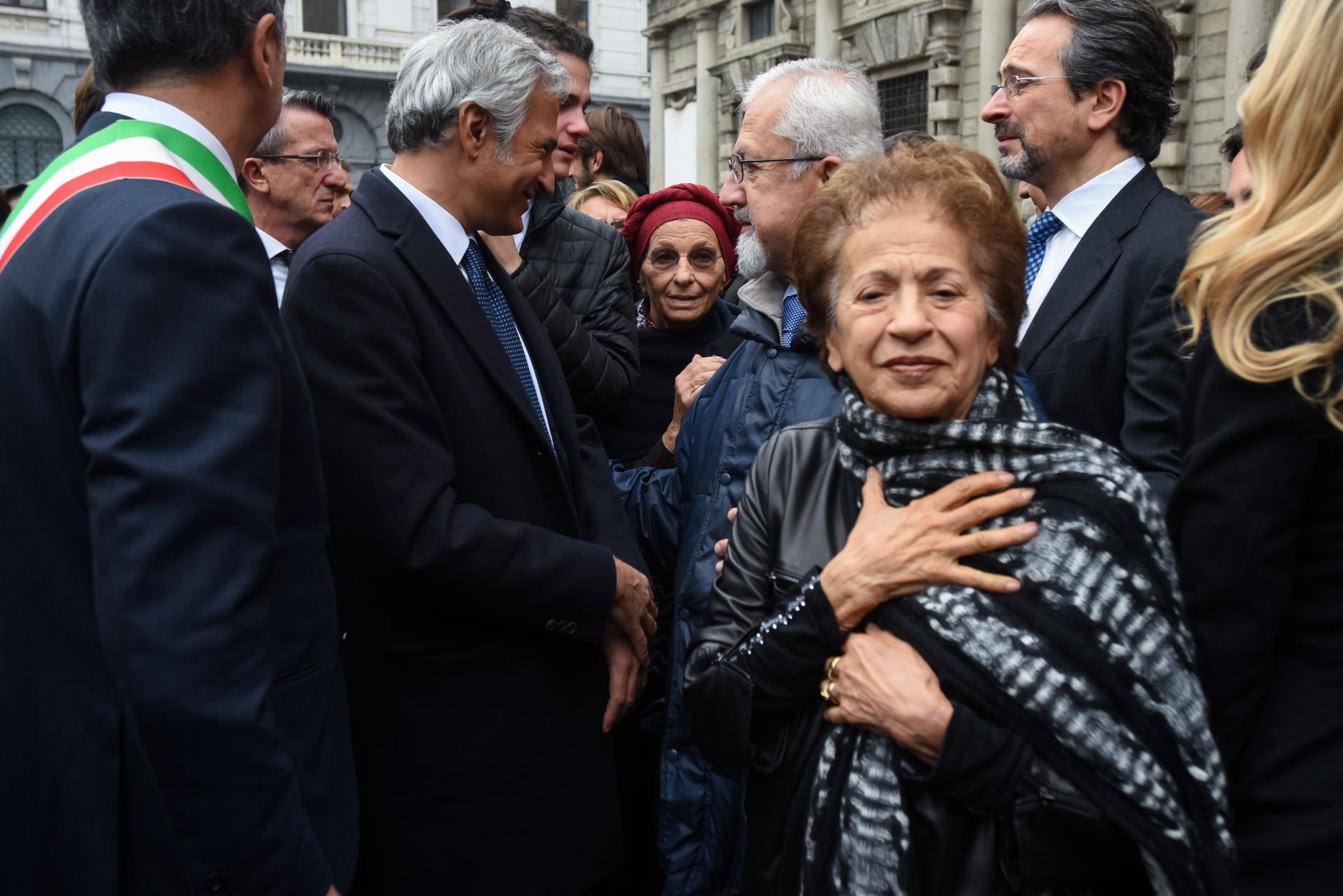 Sultana Razon, la moglie vicina a Umberto Veronesi per una vita intera