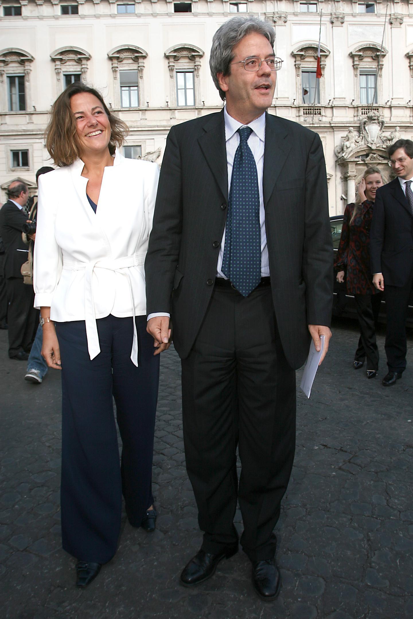 Gentiloni Emanuela Mauro-LaPresse