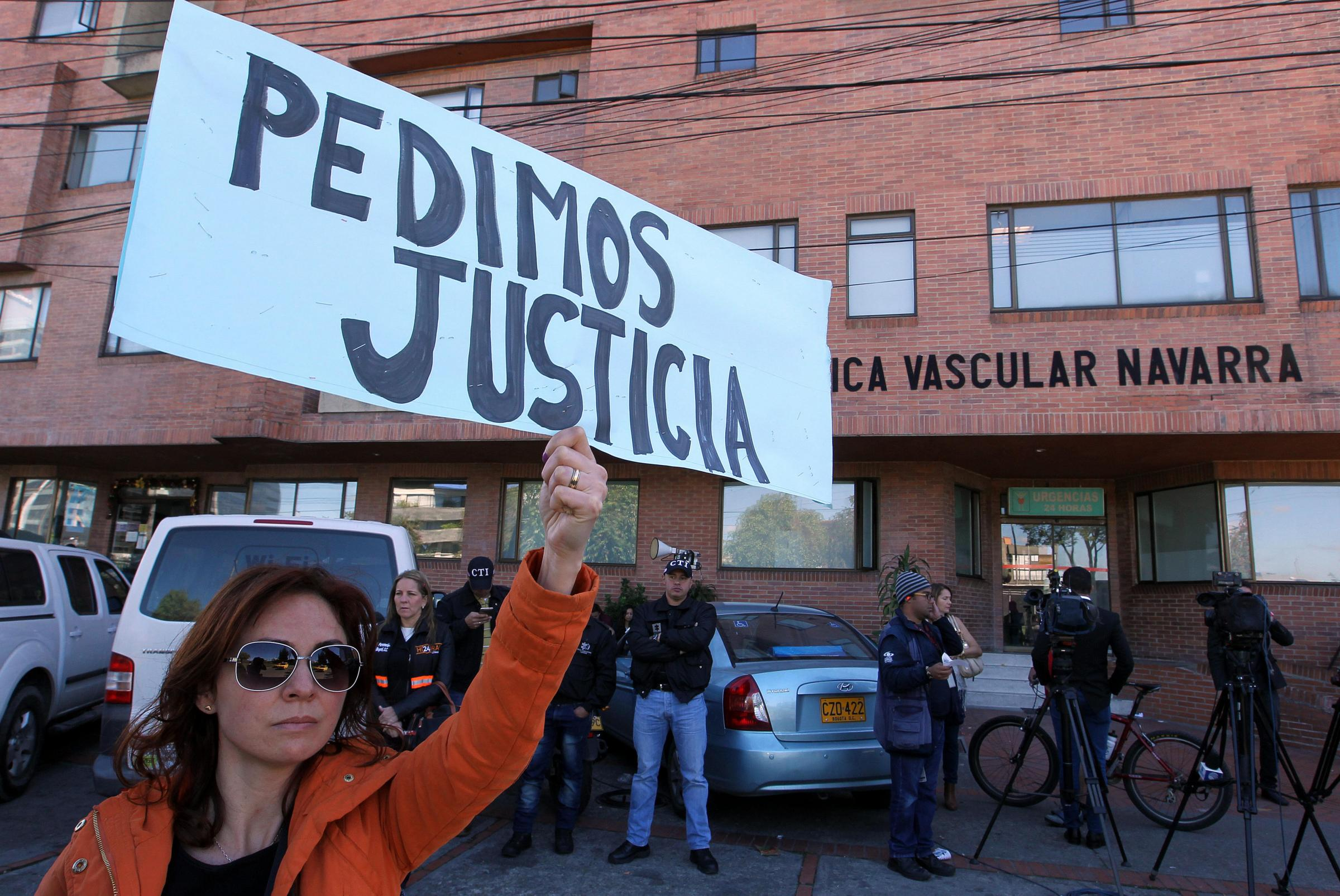 CIITZENS ASK FOR JUSTICE AFTER THE RAPE AND MURDER OF A 7 YEAR OLD IN BOGOTA