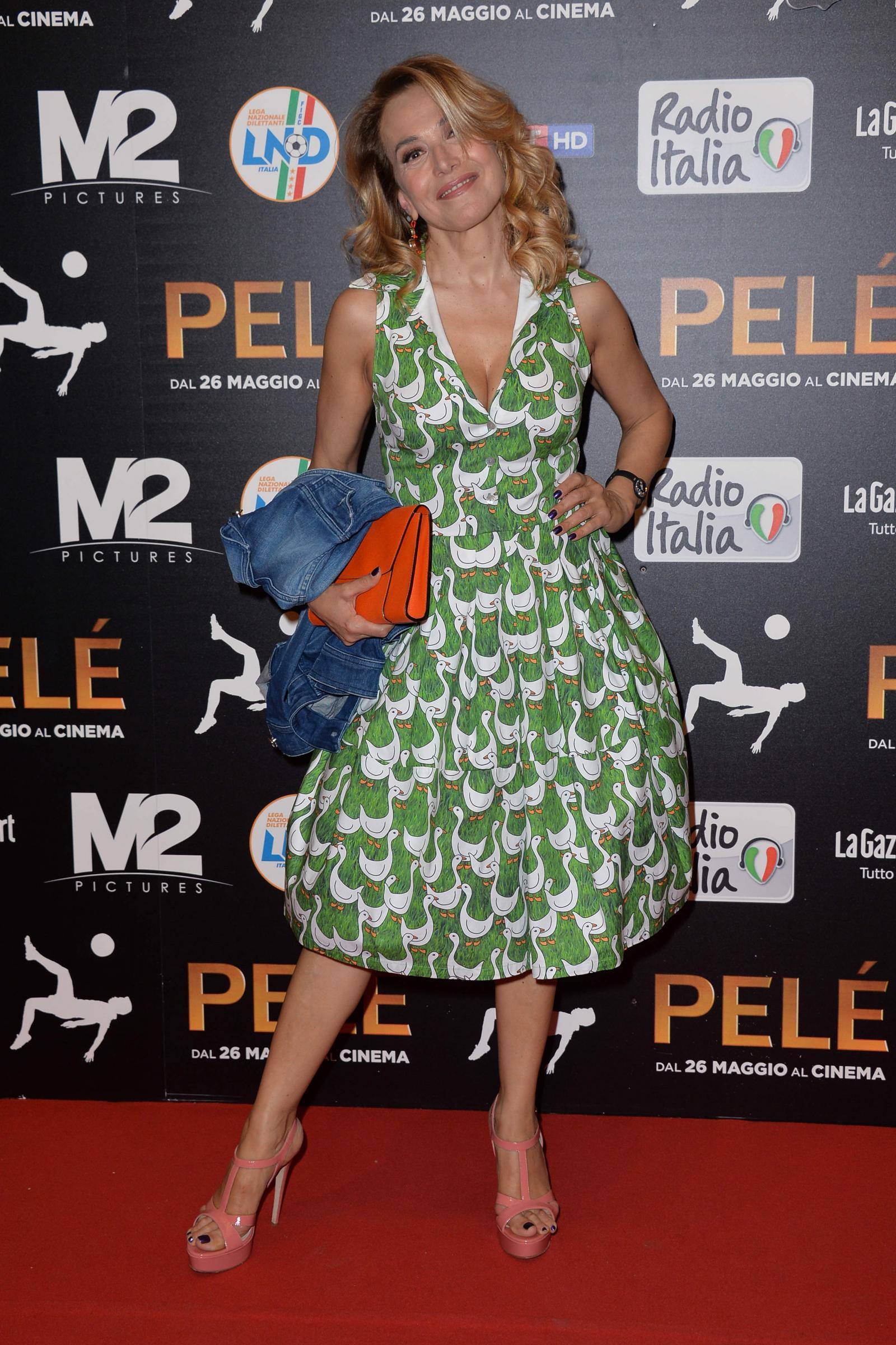 Milano, Premiere del film 'Pele''