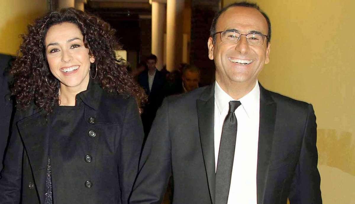 Carlo Conti, la moglie Francesca Vaccaro: la storia d'amore del conduttore [FOTO]