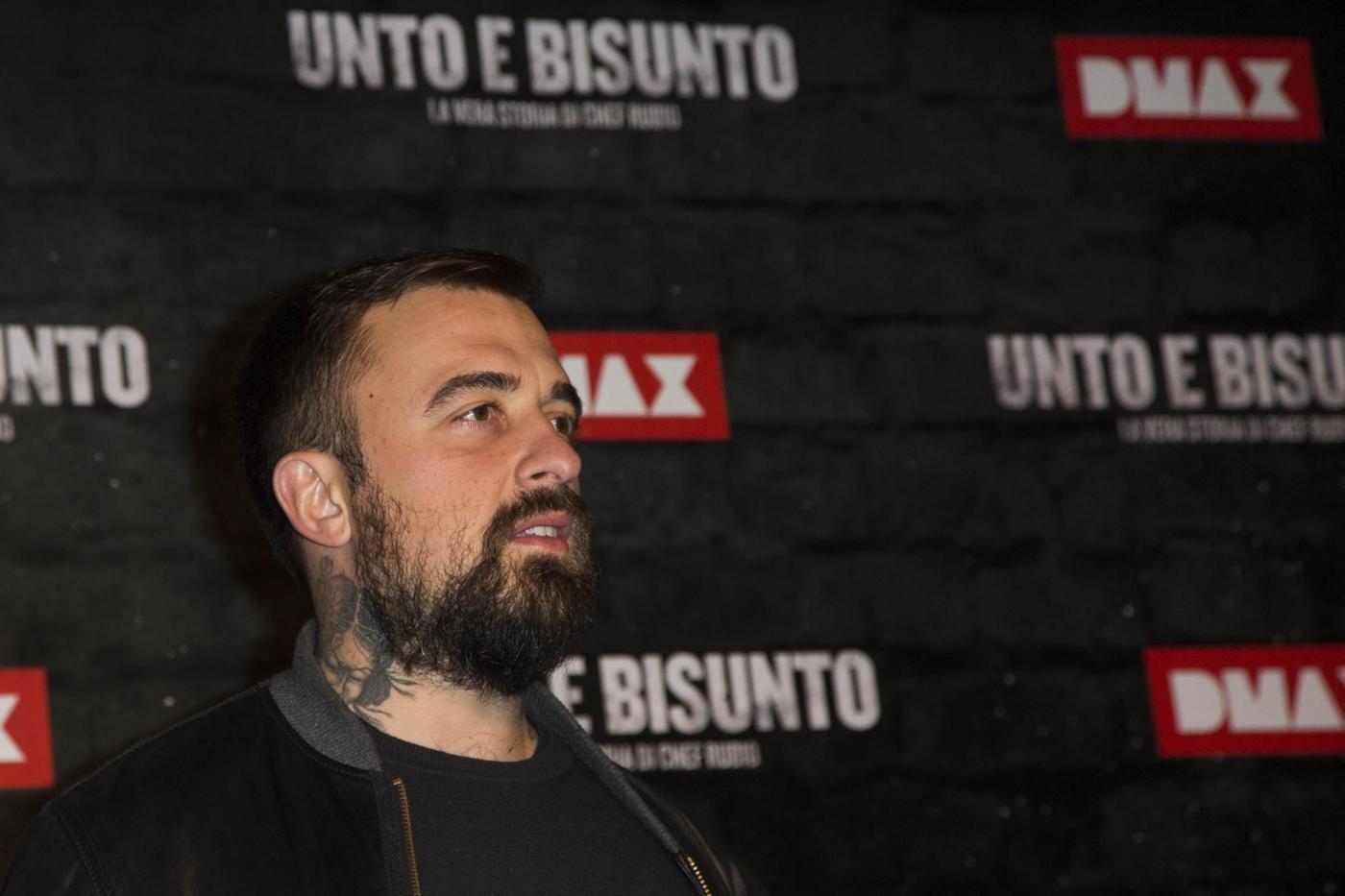 Roma: anteprima del film 'Unto e bisunto' con Chef Rubio