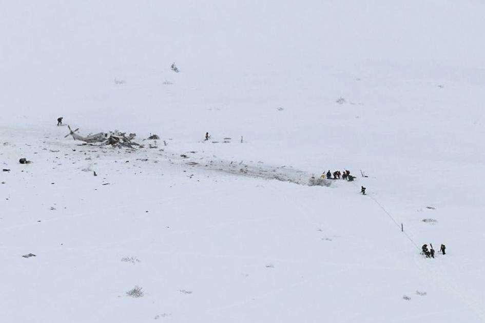 L'Aquila, precipitato elicottero del 118: sei le vittime a bordo