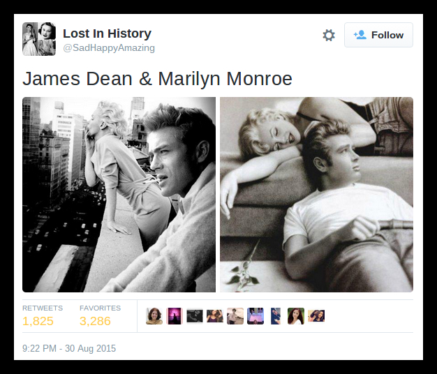 james and marilyn
