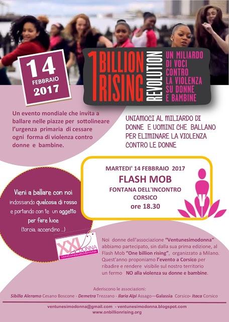Ventunesimodonna aderisce a One Billion Rising: la campagna di San Valentino contro la violenza sulle donne
