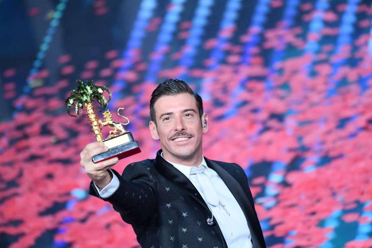Festival di Sanremo 2017, Francesco Gabbani è il vincitore