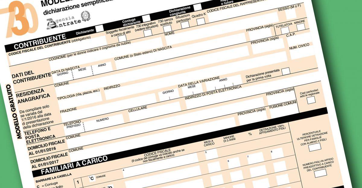 Dichiarazione dei redditi 730 scadenza e spese for Scadenza redditi 2017