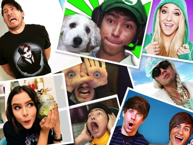 Youtubers stranieri, chi sono i più famosi [FOTO]