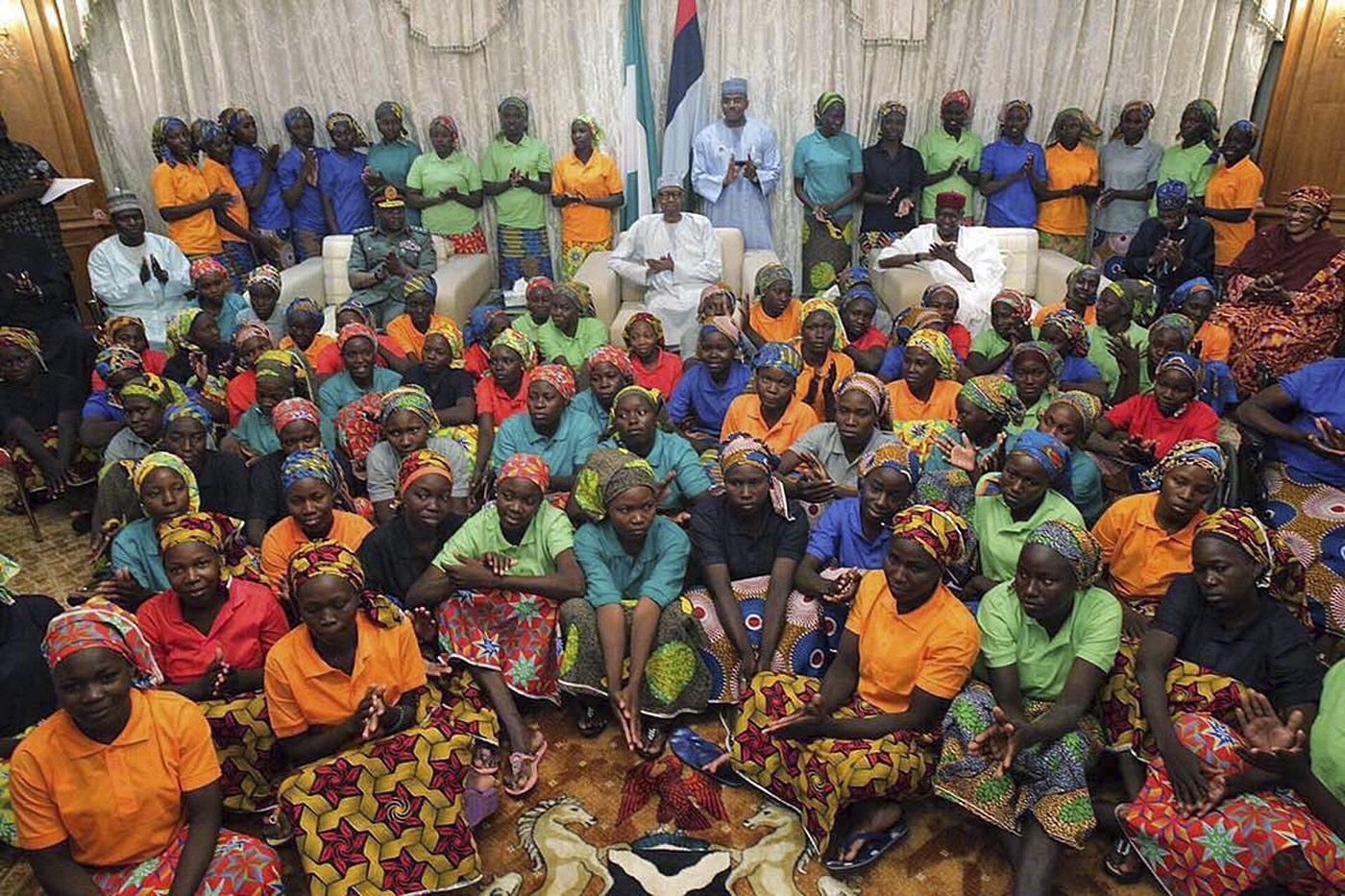 Boko Haram, le studentesse tornano dalle famiglie dopo 3 anni