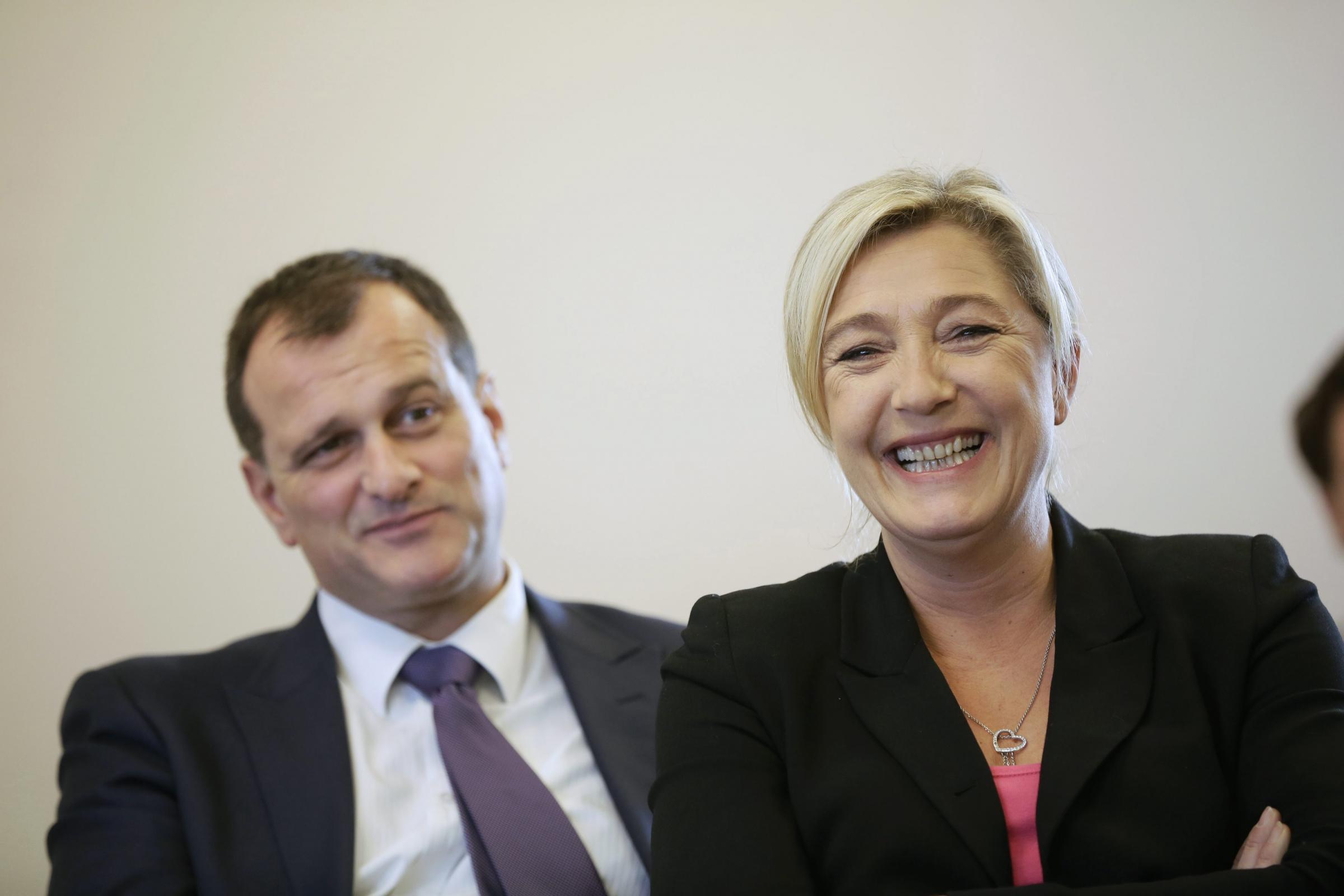 Chi è Louis Aliot, il compagno di Marine Le Pen