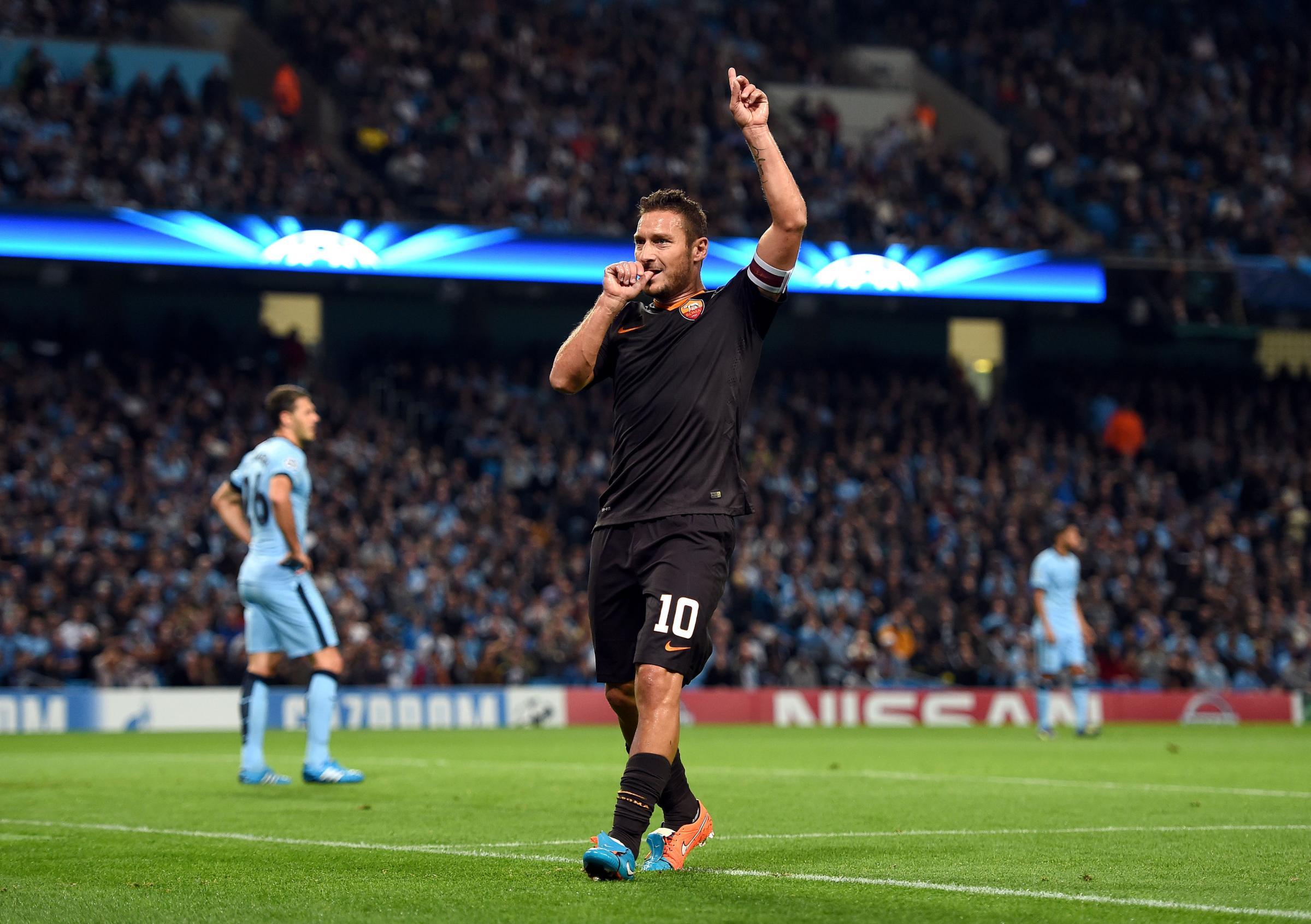 Totti goal