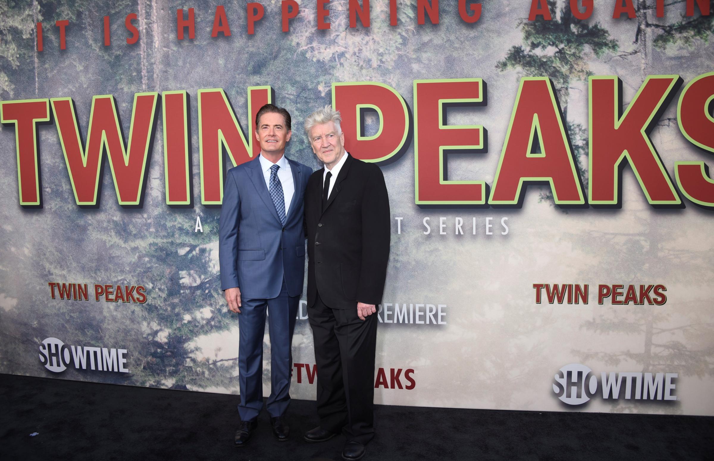 """Los Angeles, premiere della serie tv """"Twin Peaks"""""""